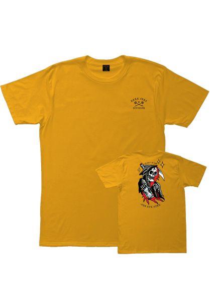 Dark Seas T-Shirts Sleep gold vorderansicht 0399572