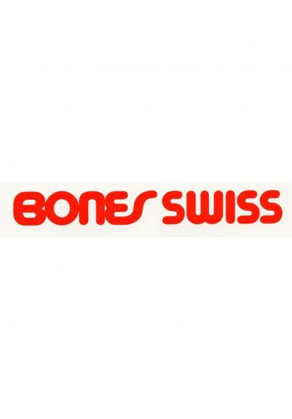 Bones Bearings Verschiedenes Swiss Type Filled Sticker clear Vorderansicht