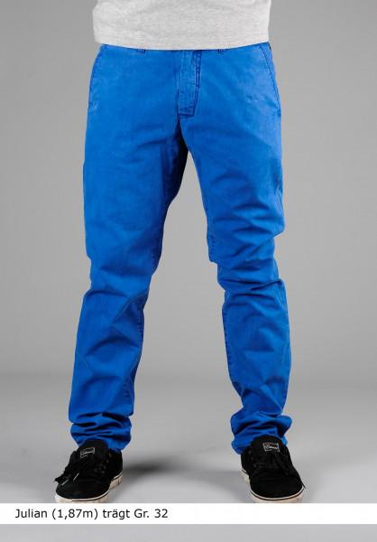 Reell Chinos und Stoffhosen Grip Tapered cobalt-blue Vorderansicht