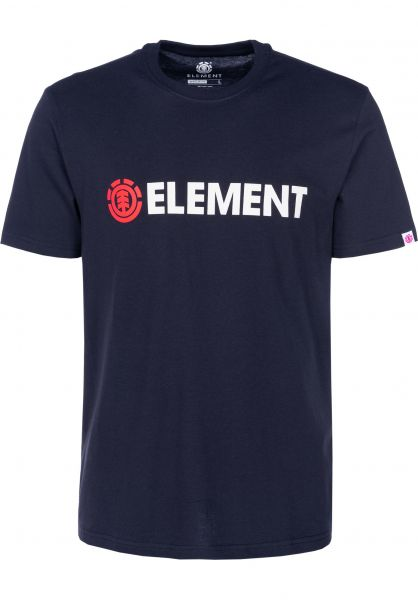 Element T-Shirts Blazin eclipsenavy vorderansicht 0397805