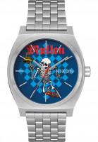 Nixon Uhren Time Teller x Bones Brigade silver-mullen Vorderansicht