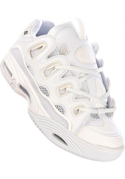 Osiris Alle Schuhe D3 2001 luminate-white-white vorderansicht 0604118