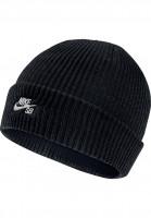 Nike-SB-Muetzen-Fisherman-black-white-Vorderansicht