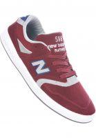 New Balance Numeric Alle Schuhe 598 burgundy-grey Vorderansicht
