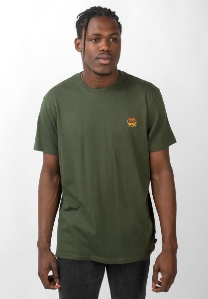 Billabong T-Shirts Jungle darkmilitary vorderansicht 0320672