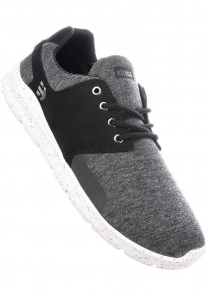 etnies Alle Schuhe Scout XT black-grey-silver Vorderansicht 9482898ce4