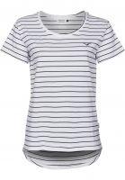 Cleptomanicx T-Shirts Harbour white Vorderansicht
