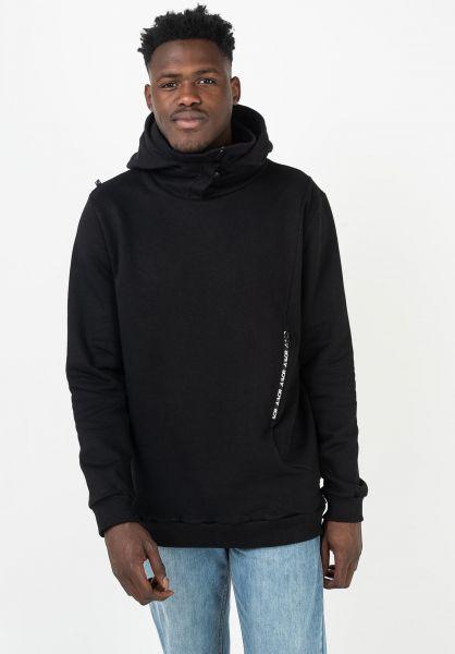 AEVOR Hoodies Heavy Hood black vorderansicht 0445971