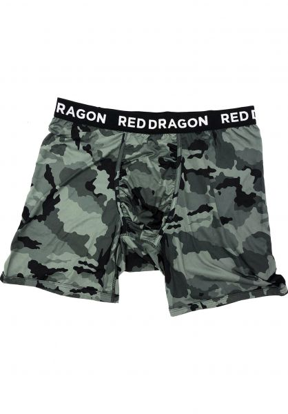 Red-Dragon Unterwäsche Boxer Briefs camo vorderansicht 0470834
