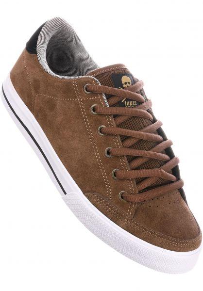 C1RCA Alle Schuhe Lopez 50 earth-black-gold Vorderansicht