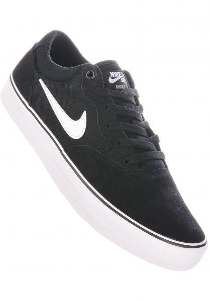 Nike SB Alle Schuhe Chron 2 black-white-black vorderansicht 0605035
