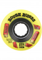 Bones Wheels Rollen ATF Rough Riders Shotgun 80A yellow Vorderansicht