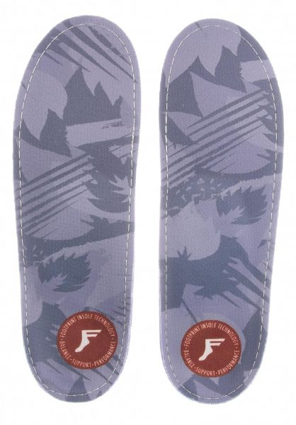 Footprint Insoles Einlegesohlen Gamechangers Camo Low lightgrey-camo vorderansicht 0249090