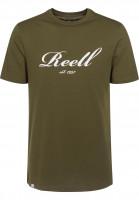Reell-T-Shirts-Big-Script-olive-Vorderansicht