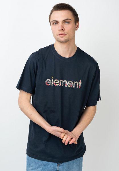 Element T-Shirts Origins eclipsenavy vorderansicht 0321713