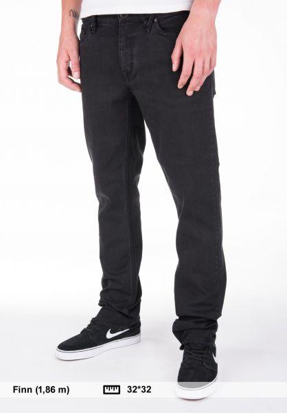 Volcom Black Zip Jeans Kids