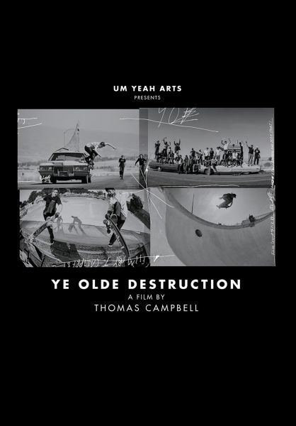 Independent Verschiedenes Ye Olde Destruction Book/Film Independent black-white vorderansicht 0972412