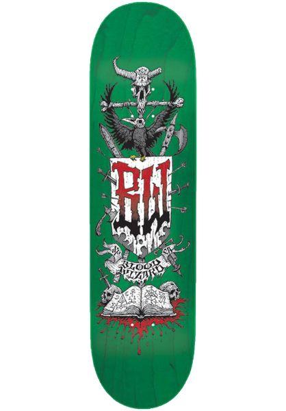 Blood Wizard Skateboard Decks Battle Team vorderansicht 0262090