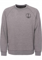 Captain-Fin-Sweatshirts-und-Pullover-Helm-gunmetal-heather-Vorderansicht