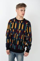 iriedaily-strickpullover-patcheo-knit-navy-red-vorderansicht-0144136
