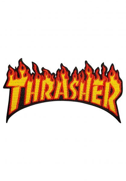 Thrasher Verschiedenes Flame Patch multicolored Vorderansicht