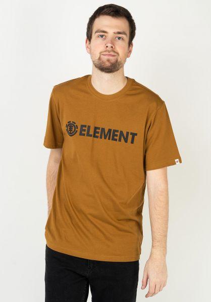 Element T-Shirts Blazin goldbrown vorderansicht 0397805