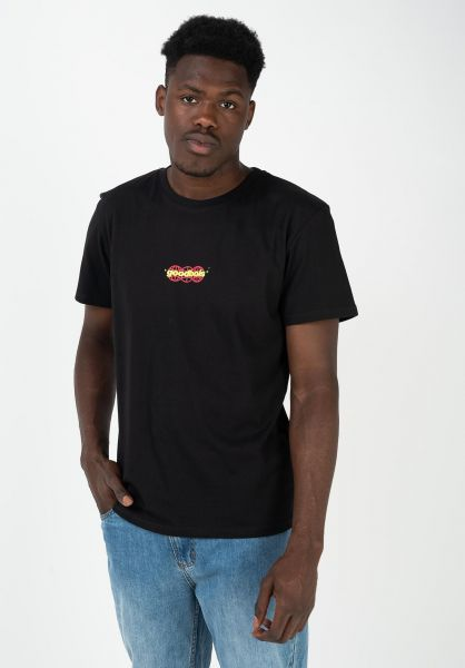 Goodbois T-Shirts Gear black vorderansicht 0322501