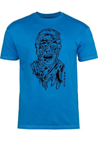 Bones Wheels T-Shirts Mummy blue vorderansicht 0320210