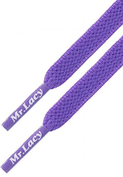 Mr. Lacy Schnürsenkel Flexies violet vorderansicht 0640008
