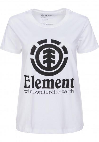 Element Vertical Element T-shirts en white