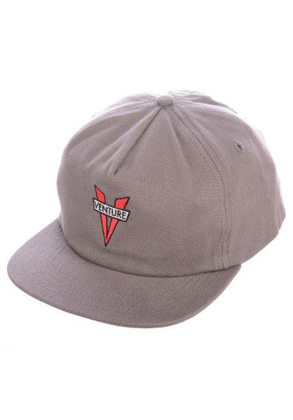 Venture Caps Heritage grey vorderansicht 0565287