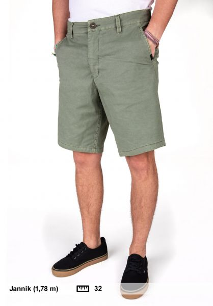 """Rip Curl Chinoshorts Hi Dyed 19"""" Boardwalk olive vorderansicht 0281015"""