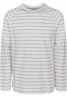 Reell Longsleeves Striped offwhite-heathergrey Vorderansicht