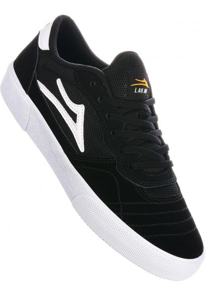 Lakai Alle Schuhe Cambridge black-white-gold vorderansicht 0604604