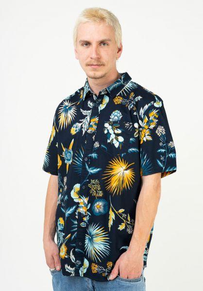 Vans Hemden kurzarm Califas dressblues-califas vorderansicht 0401059