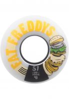 TITUS Rollen Fat Freddys Slim Core 100A white-orange Vorderansicht