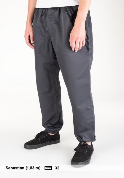 adidas-skateboarding Jogginghosen Numbers Edition Pants carbon-black Vorderansicht