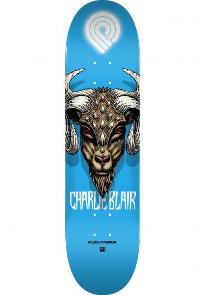 Powell-Peralta Skateboard Decks Charlie Blair Goat Popsicle blue vorderansicht 0263972