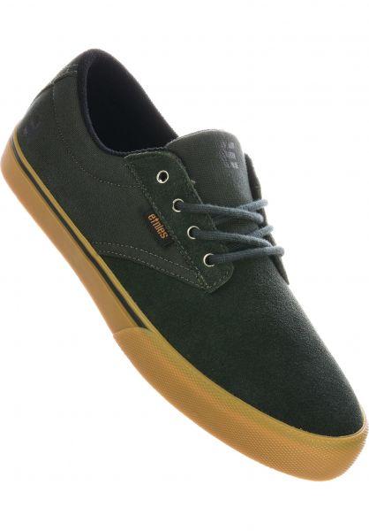 etnies Alle Schuhe Jameson Vulc green-black vorderansicht 0603802