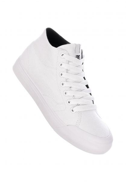 DC Shoes Alle Schuhe Evan Hi Zero TX white vorderansicht 0612488
