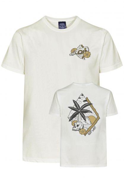 Rebel Rockers T-Shirts Island offwhite vorderansicht 0320747