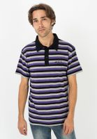 fourasses-polo-shirts-blocked-black-purple-grey-vorderansicht-0138433