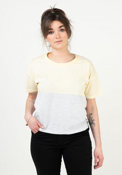 TITUS T-Shirts Mirka yellow vorderansicht 0398465