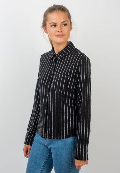 TITUS Hemden langarm Liese black-striped vorderansicht 0411857