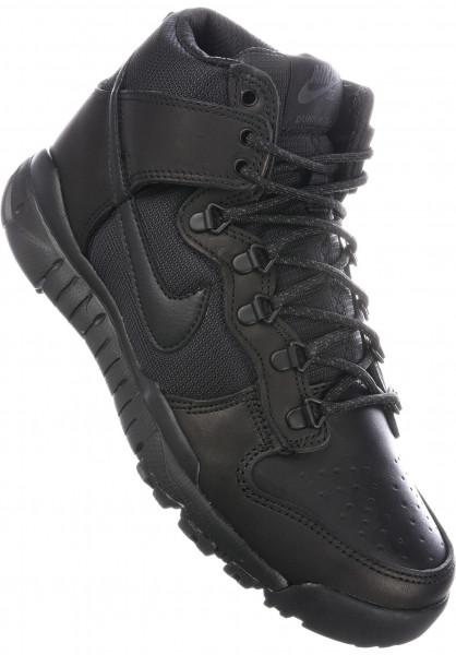 Dunk High Boot Nike SB Toutes les chaussures en Noir Noir
