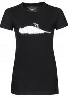 Atticus T-Shirts Staples black Vorderansicht