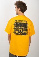 primitive-skateboards-t-shirts-echo-gold-vorderansicht-0320494