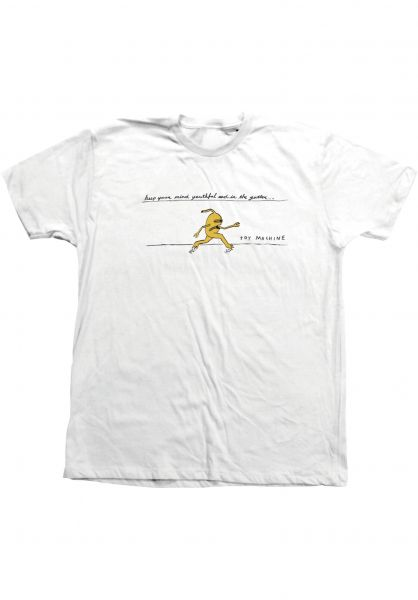Toy-Machine T-Shirts Gutter white vorderansicht 0323280