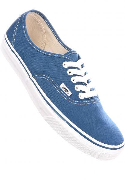 Vans Alle Schuhe Authentic navy Vorderansicht