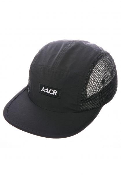 AEVOR Caps Mesh Cap black vorderansicht 0567066